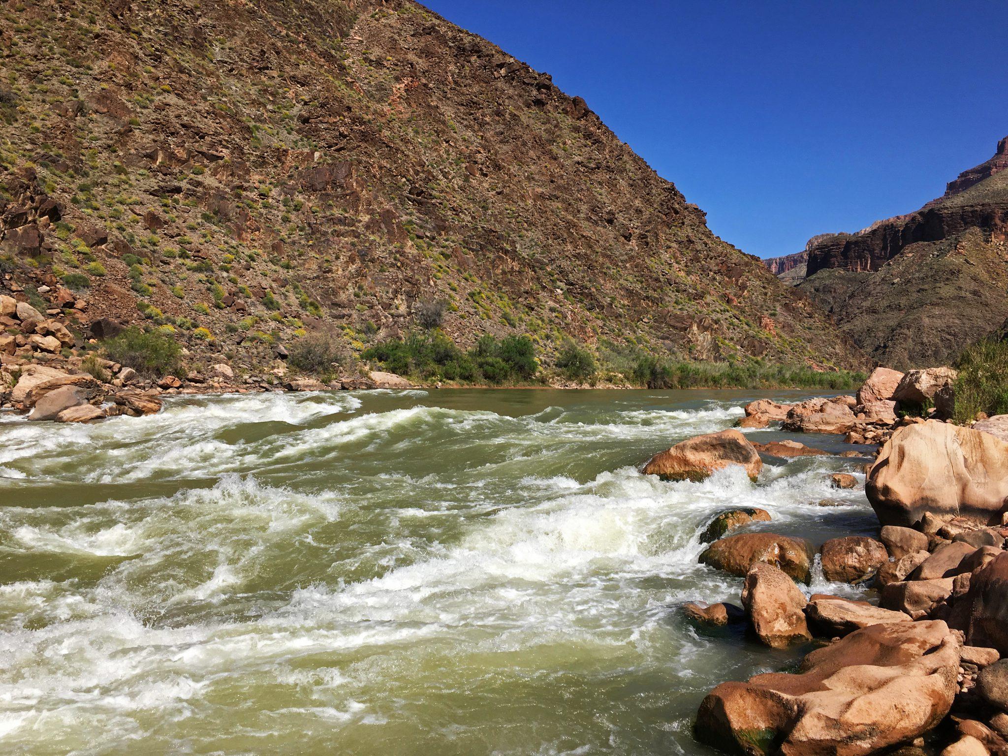 The Mighty Colorado River, Hermit Rapids