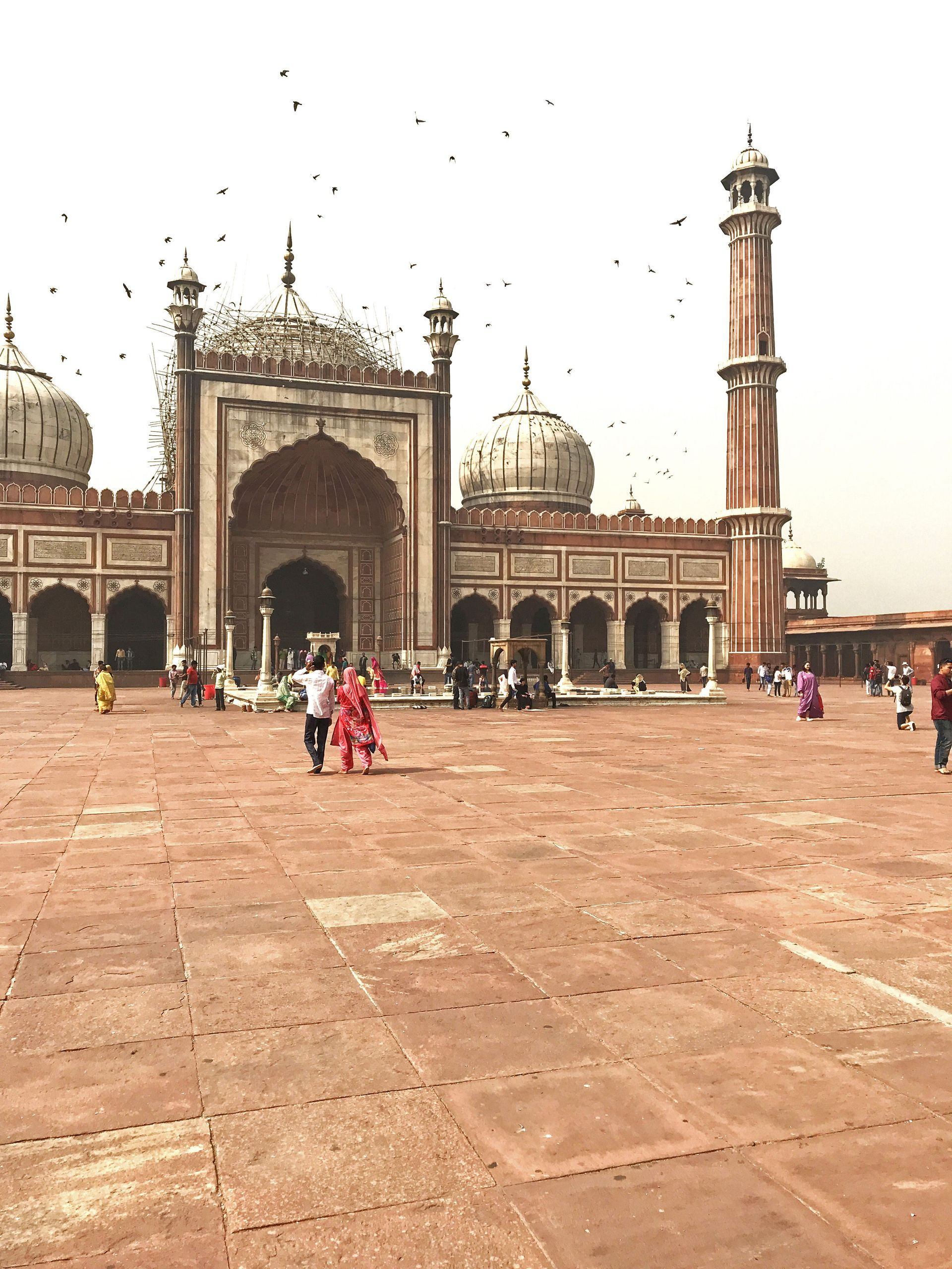 Mosque, New Delhi India